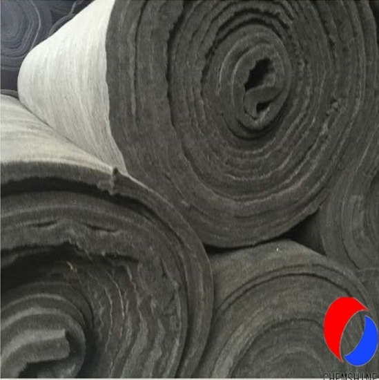 10MM Thick Rayon Based Flexible Carbon Fiber Felt for sale
